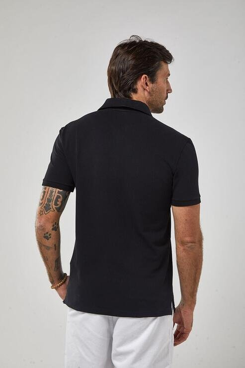Polo Zapalla Lhama Stretch NS - Preto