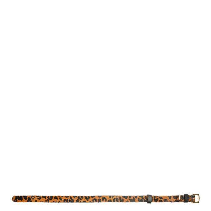 Coleira Schutz M Pets Collection Leopard Print