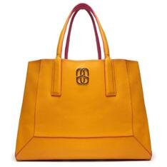 Shopping Schutz Bag Double Face Pink/Yellow