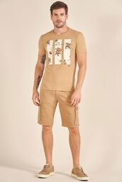 Camiseta Acostamento Resort Floral