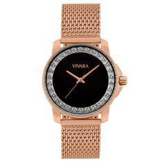 Relógio Vivara Feminino Aço Rosé - DS14229R0C-2 by Vivara