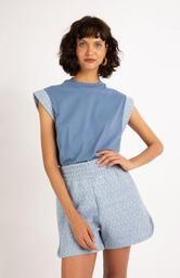 Camiseta Le Molleton Mila Azul