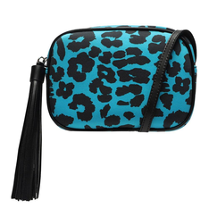 Crossbody Schutz Kate Animal Print Cyan