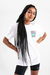 Camiseta Baw Spray Logo White