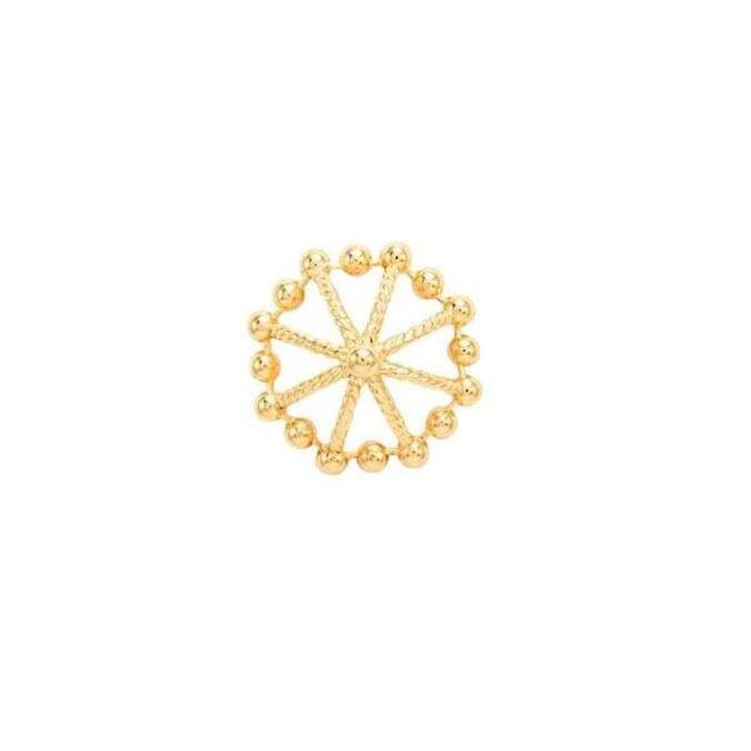Pingente Ouro Amarelo 18K - Casual - CL Joias