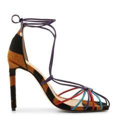 Sandália Schutz Lace-Up Zebra Colors