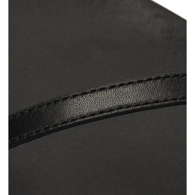 Sandália Schutz Rasteira Chain Black