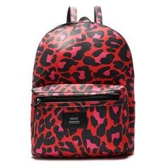 Mochila Schutz Neoprene Animal Print Red