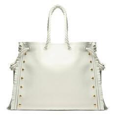 Shopping Schutz Bag Drop White